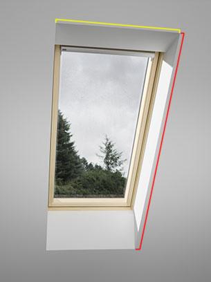 Zalomené střešní okno